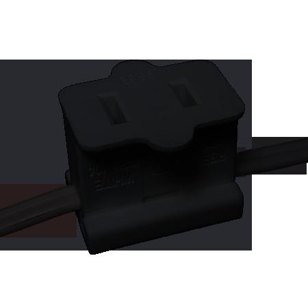 Miscellaneous Zip Cord Wire 18 2 Spt1 Black Zip